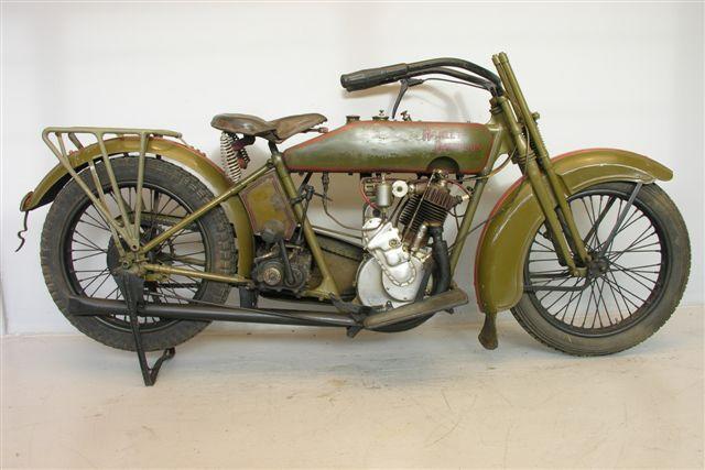 1922 - Harley-Davidson modelo 22CD