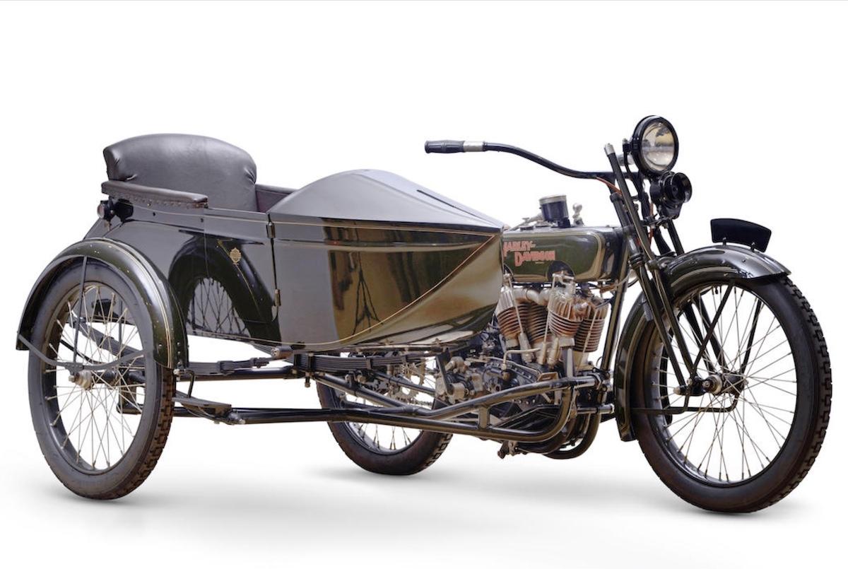Harley-Davidson modelo 21JDS de 1922