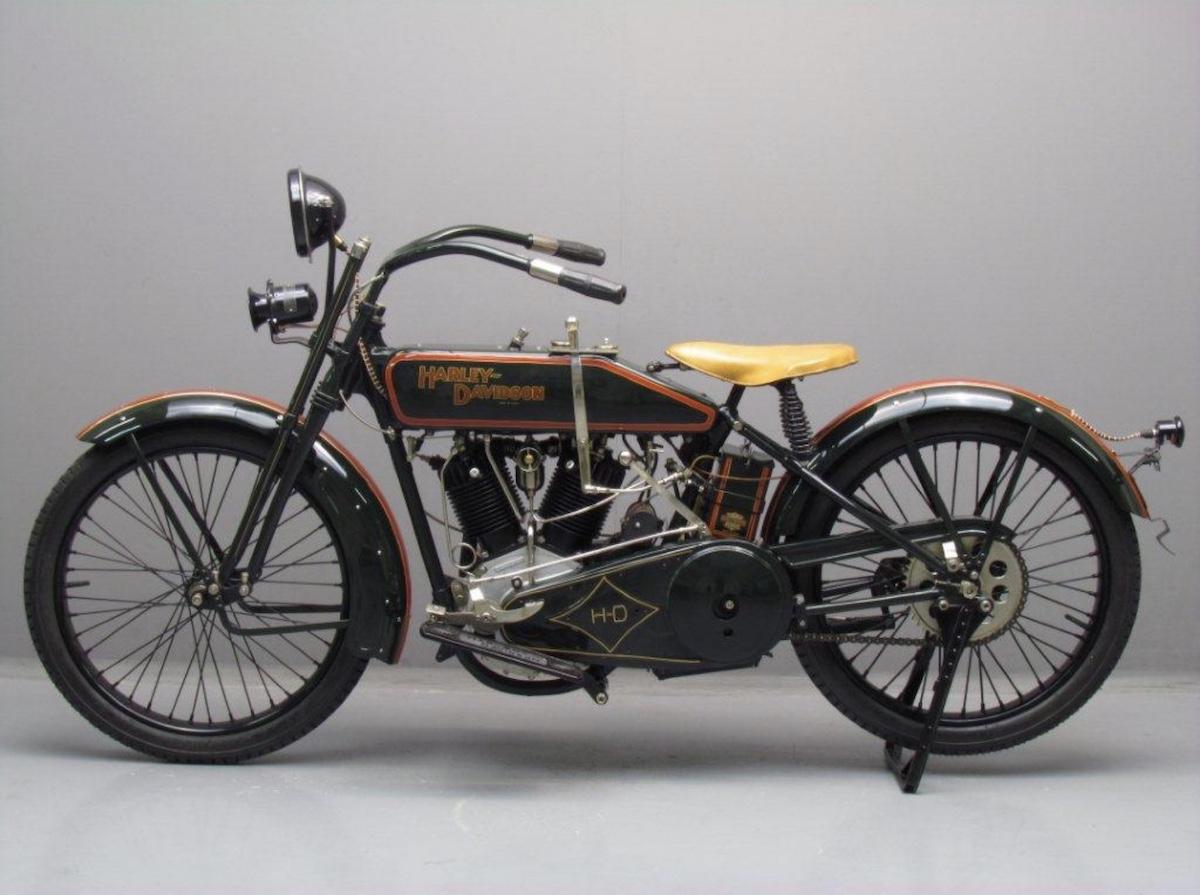 Harley-Davidson modelo 22F de 1922