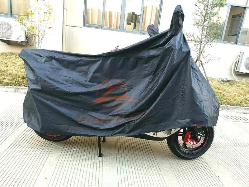 aparcar la moto en los aeropuertos