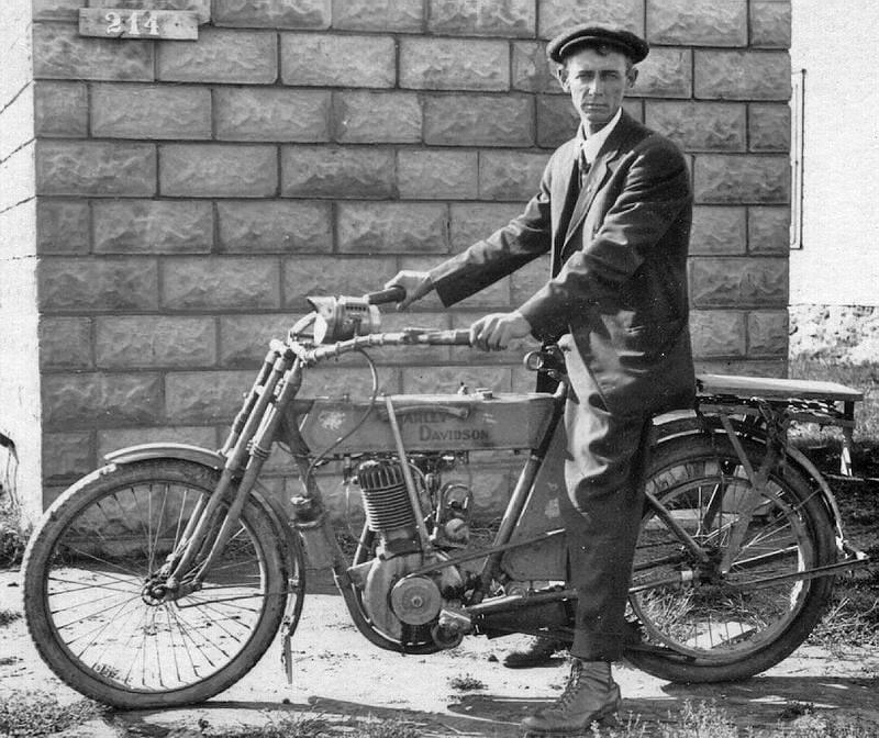1911-harley-davidson Modelo 7A