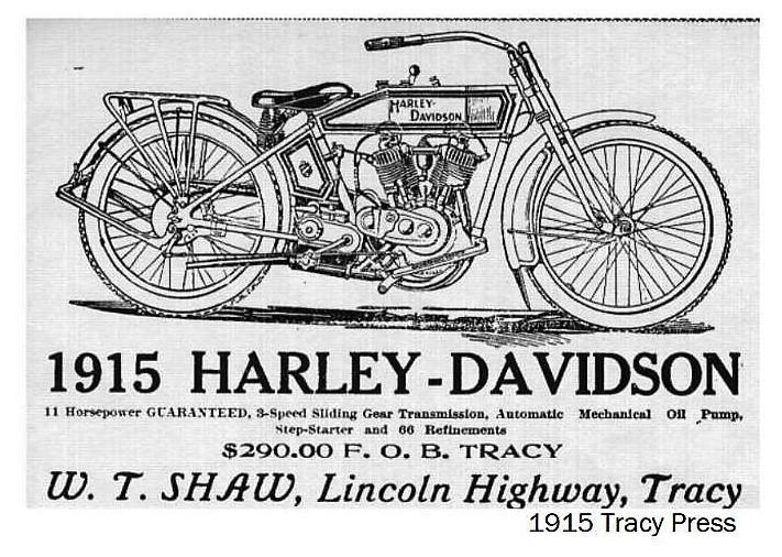 1915 - Harley-Davidson W.T. Shaw