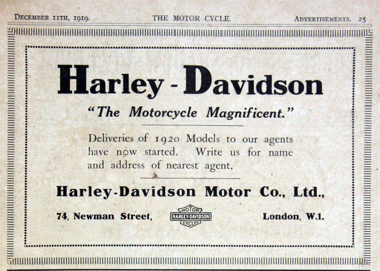 1919-Harley-Davidson the Motorcycle Magnificient
