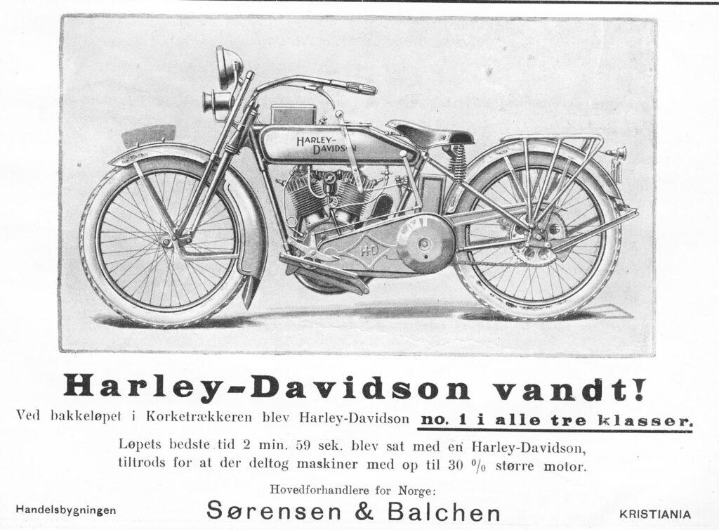 1923 - Distribuidor Sorensen de Noruega